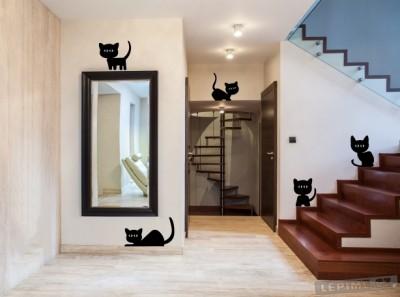 Koťátka samolepka na zeď, zdroj: lepime.cz